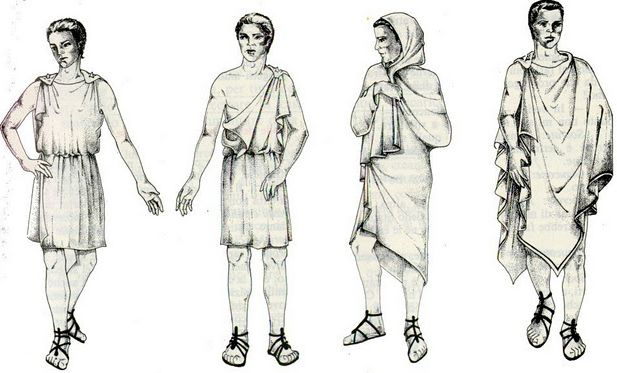 Хитон выкройка - Выкройки одежды